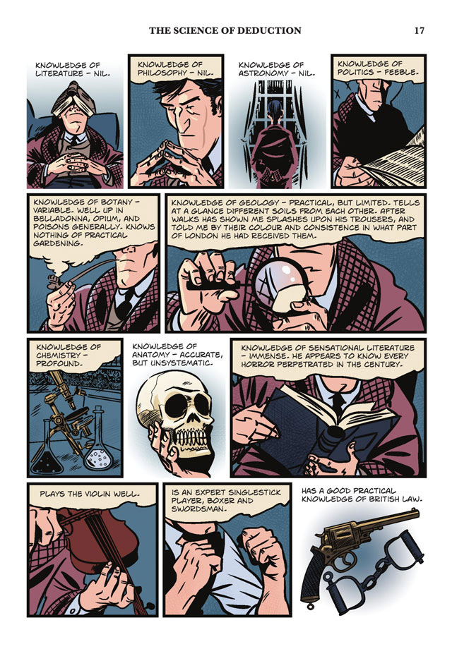 a study in scarlet a sherlock holmes graphic novel illustrated classics